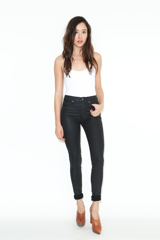 High Waisted Black Jeans